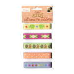 Die Cuts with a View - Circus Kids Collection - Self-Adhesive Ribbon