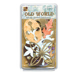Die Cuts with a View - Old World - Textured Cardstock Embellishments, CLEARANCE