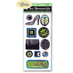 Die Cuts with a View - All Dressed Up Collection - Pop Up Embellishments - Modern, CLEARANCE