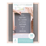 Die Cuts with a View - Letter Board - Oak Frame with Gray - 16 x 20