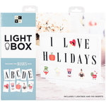 Die Cuts with a View - Light Box - 3 Rows - White