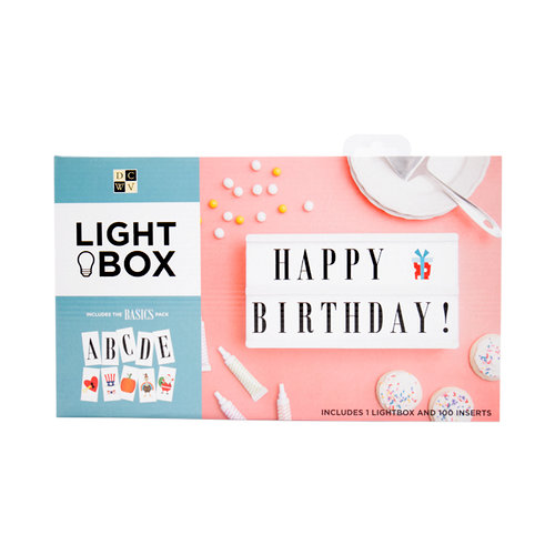 Die Cuts with a View - Light Box - 2 Rows - White