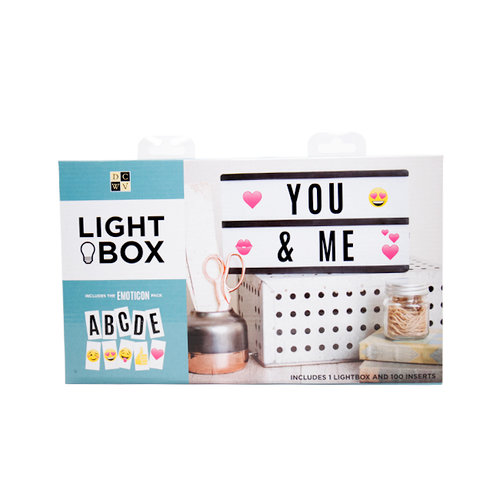 Die Cuts with a View - Light Box - 2 Rows - Black