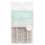 Die Cuts with a View - Letter Board - Letter Packs - 1 Inch - Gray