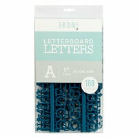 Die Cuts with a View - Letter Board - Letter Packs - 1 Inch - Navy