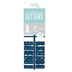 Die Cuts with a View - Letter Board - Letter Packs - 2 Inches - Navy