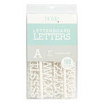 Die Cuts with a View - Letter Board - Letter Packs - 1 Inch - White