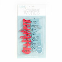 Die Cuts with a View - Letter Board - Word Packs - Celebration