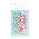 Die Cuts with a View - Letter Board - Word Packs - Love