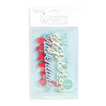 Die Cuts with a View - Letter Board - Word Packs - Travel