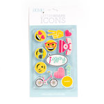 Die Cuts with a View - Letter Board - Icon Packs - Happy