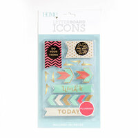Die Cuts with a View - Letter Board - Icon Packs - Planning