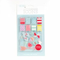 Die Cuts with a View - Letter Board - Icon Packs - Spring and Summer