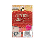 Die Cuts with a View - A Type of Art Collection - 4.5 x 6.5 Gloss Cardstock Matstack