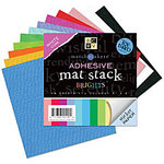 Die Cuts with a View - 6 x 6 Adhesive Matstack - Brights