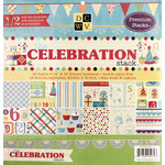 Die Cuts with a View - Celebration Collection - Foil and Glitter Paper Stack - 12 x 12
