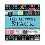 Die Cuts with a View - Glitter Collection - Glitter Paper Stack - 12 x 12