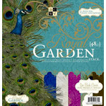 Die Cuts with a View - The Royal Garden Collection - Foil Paper Stack - 12 x 12