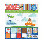 Die Cuts with a View - Great Vacation Collection - Foil and Gloss Paper Stack - 12 x 12