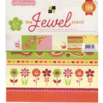 Die Cuts with a View - The Jewel Collection - Rhinestone Paper Stack - 12 x 12