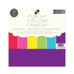 Die Cuts with a View - Silky Smooth Cardstock Stack - 12 x 12 - Brights