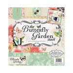 Die Cuts with a View - Butterfly Garden Collection - Foil Paper Stack - 12 x 12