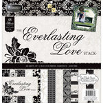 Die Cuts with a View - Everlasting Love Collection - Foil Paper Stack - 12 x 12