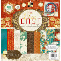 Die Cuts with a View - Far East Collection - Foil Paper Stack - 12 x 12