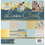 Die Cuts with a View - Linen Closet Collection - Foil Paper Stack - 12 x 12