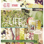 Die Cuts with a View - Text plus Photo Stack - Gloss and Foil and Stickers - 12 x 12