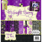 Die Cuts with a View - Midnight Berry Collection - Foil Paper Stack - 12 x 12