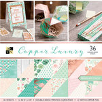 Die Cuts with a View - Copper Luxury Collection - Paper Stack - 12 x 12