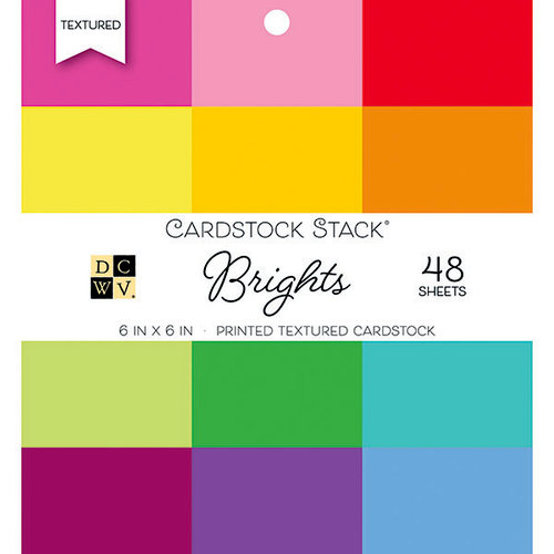 Die Cuts with a View - Brights - Paper Stack - 6 x 6