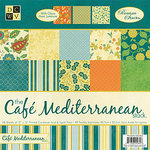 Die Cuts with a View - Cafe Mediterranean Collection - Gloss Paper Stack - 12 x 12, CLEARANCE