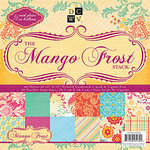 Die Cuts with a View - Mango Frost Collection - Glitter Paper Stack - 12 x 12