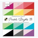 Die Cuts with a View - Pastel Brights - Double Sided Paper Stack - 6 x 6