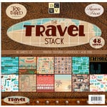 Die Cuts With A View - Travel Collection - Cardstock Stack - 12x12