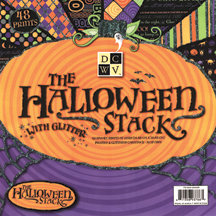 Die Cuts with a View - Halloween Collection - 12X12 Glitter Paper Stack