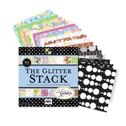 Die Cuts with a View - All Occassion Glitter Stack - 12x12