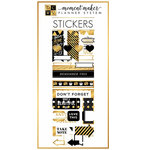 Die Cuts with a View - Planner - Cardstock Stickers - Fashion with Gold Foil Accents