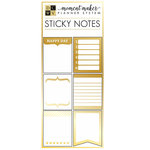 Die Cuts with a View - Planner - Mini Adhesive Notepads with Gold Foil Accents