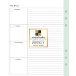 Die Cuts with a View - Planner - Inserts - Pages - Weekly