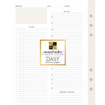 Die Cuts with a View - Planner - Inserts - Daily - Professional - Undated