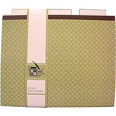 Die Cuts with a View - Mi Casa Collection - File Folder Set - 9 pack