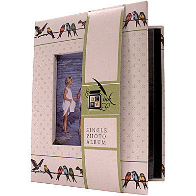 Die Cuts with a View - Mi Casa Collection - Single Photo Album - 24 4 x 6 Inch Photo Pockets
