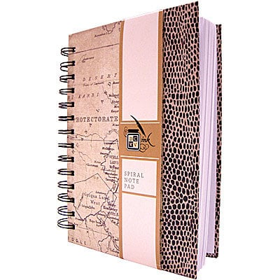 Die Cuts with a View - Safari Collection - Spiral Notebook
