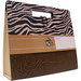 Die Cuts with a View - Safari Collection - File Tote, BRAND NEW