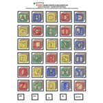 E-Cuts Alphabets (Download and Print)  - Baby Blocks