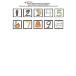 E-Cuts Numbers (Download and Print)  - Halloween