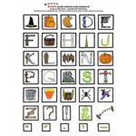 E-Cuts Alphabets (Download and Print)  - Halloween